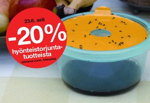 -20% hyönteistorjunta-tuotteista