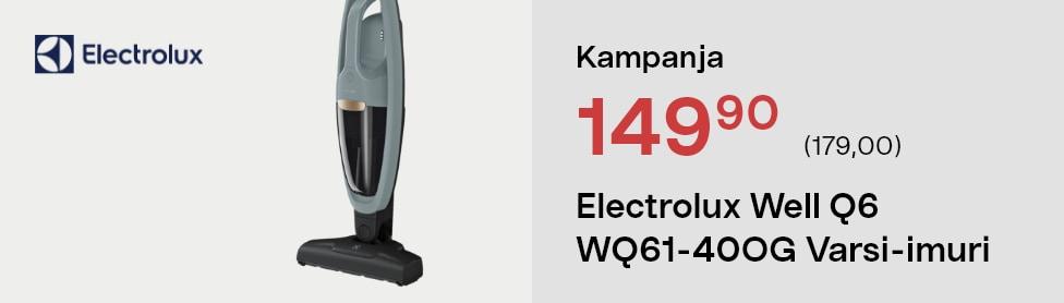 Electrolux Well Q6 WQ61-40OG Varsi-imuri
