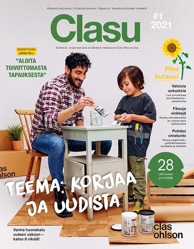 Uusi Club Clas -lehti Clasu on ilmestynyt