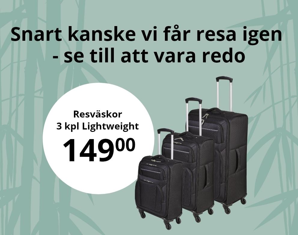 Resväskor och resetillbehör