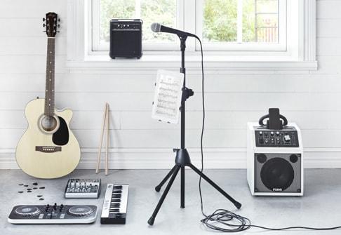 Soittimet & studiotarvikkeet