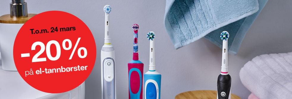 El-tannbørster
