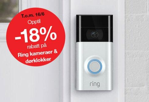 Opptil -18% Ring