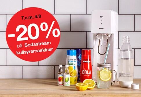 -20% alle sodastream