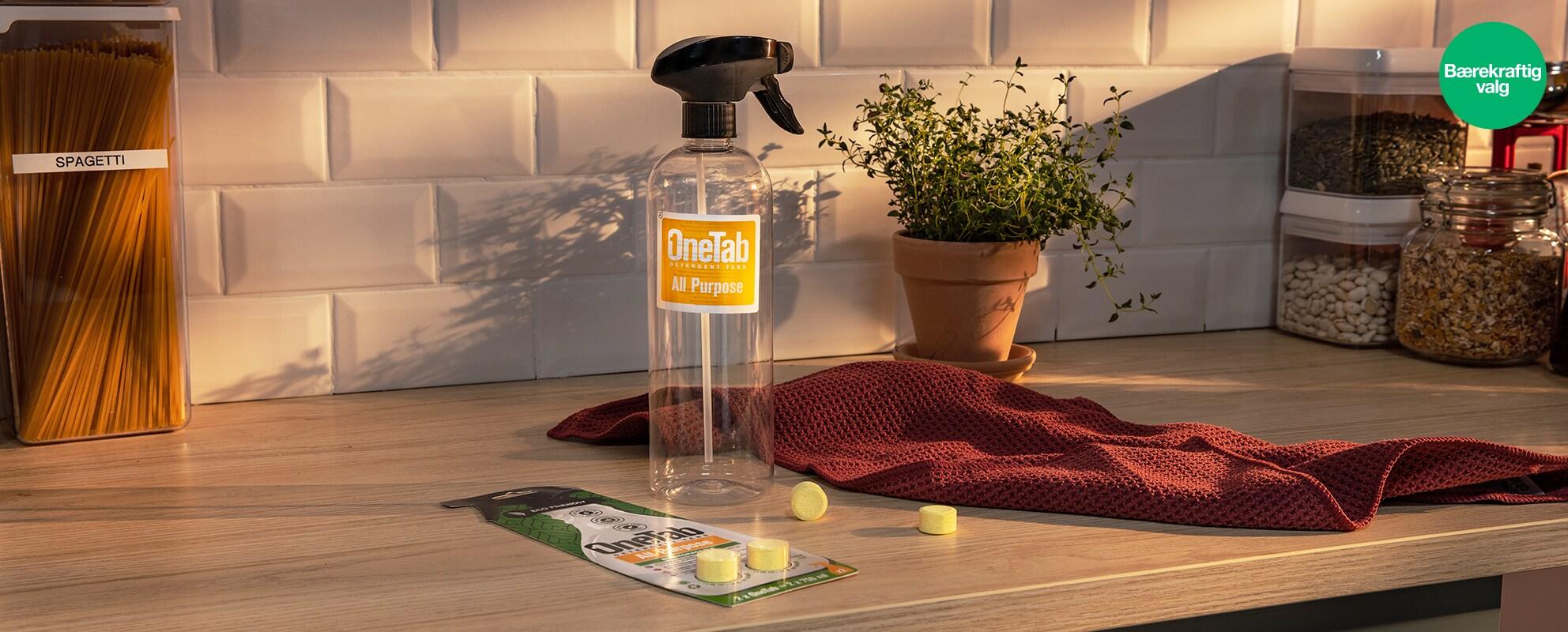 Bærekraftige produkter i kjøkkenet