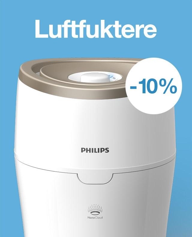 -10% på luftfuktere
