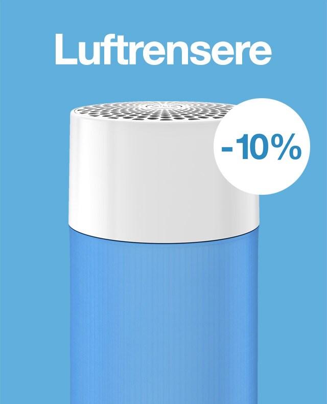 -10% på luftrensere