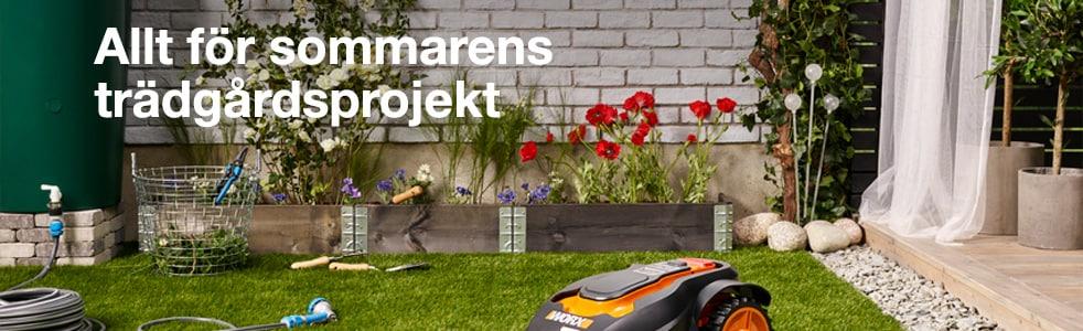 Allt för sommarens trädgårdsprojekt