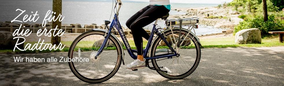 Zeit für die erste Radtour