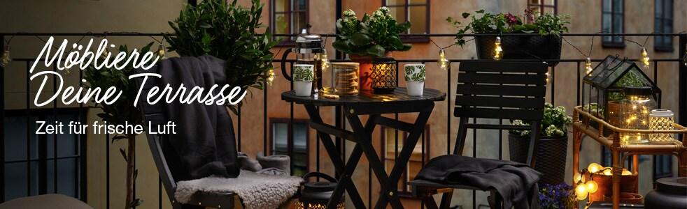 Möbliere Deine Terrasse
