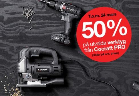 50% på Cocraft PRO