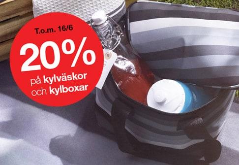 20% av kylväskor