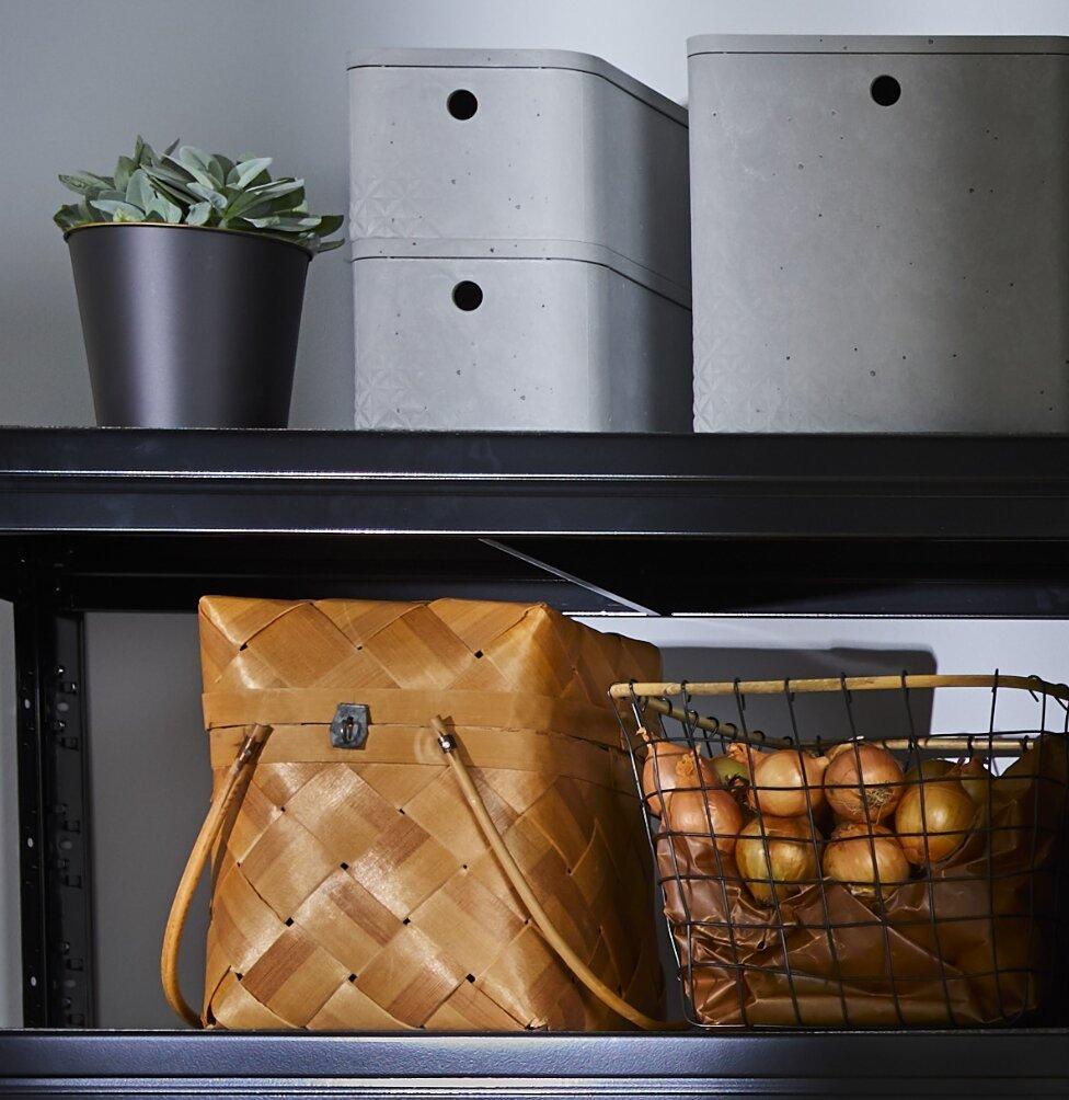 Våra förvaringslösningar gör det lätt att lagra dina </br>bra-att-ha-produkter