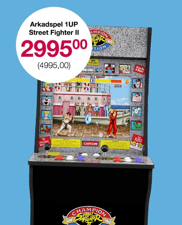 Arkadspel 1UP Street Fighter II