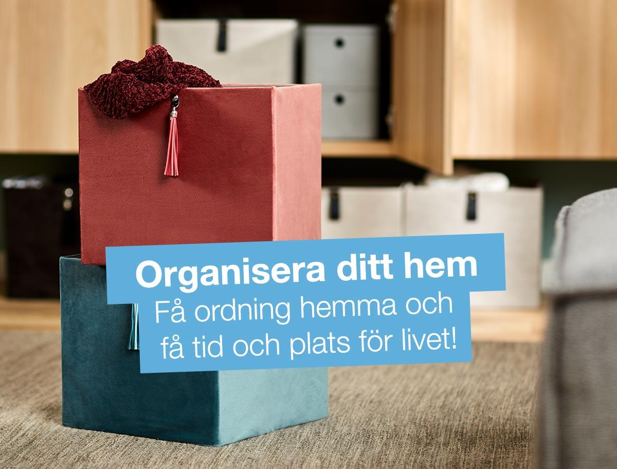 Organisera hemma