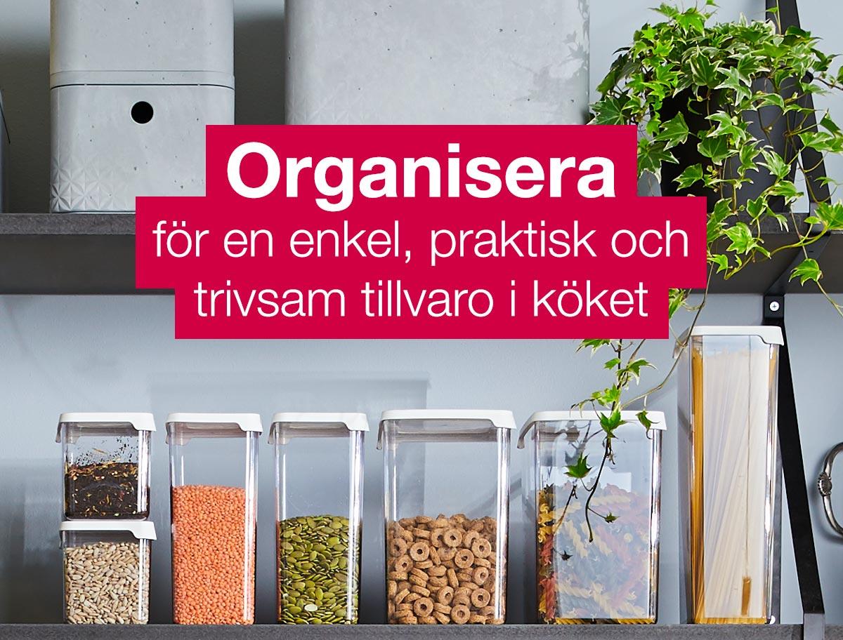 Matförvaring för köket