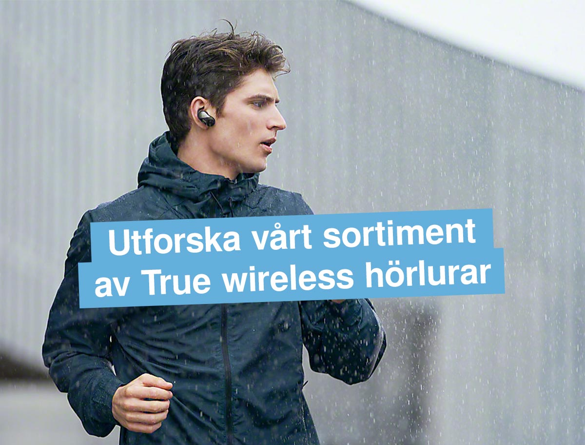 True wireless sortiment