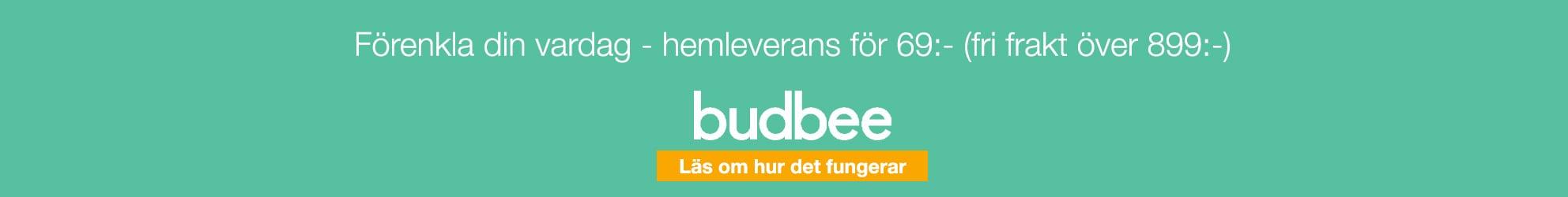 Hemleverans med Budbee
