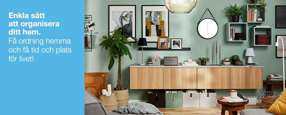 Enkla sätt att organisera ditt hem.