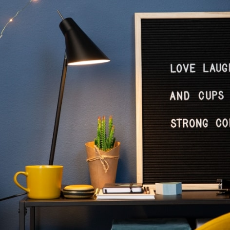 En smartare skrivbordslampa