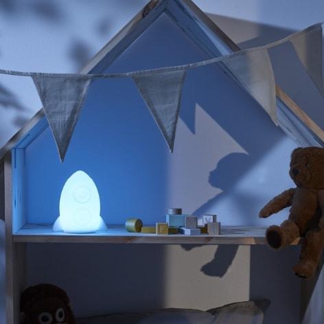 Nattlampa eller ledljus?