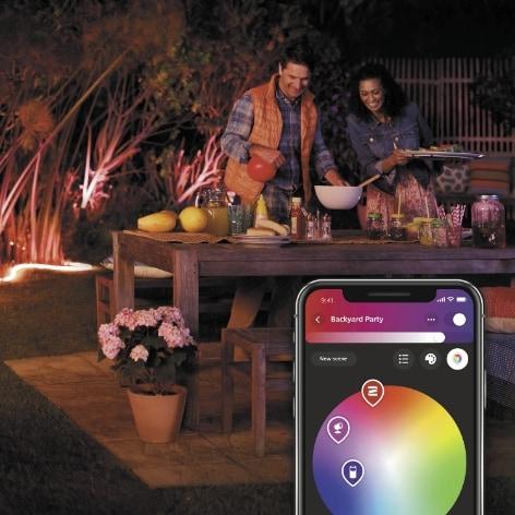 Smart belysning ute och inne
