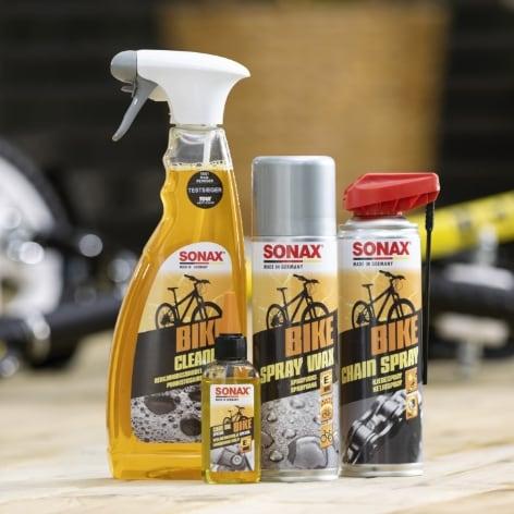 Tvätta och vårda din cykel