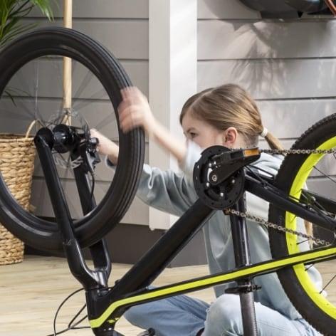 Byta cykeldäck och cykelslang