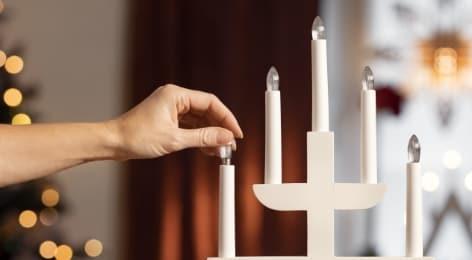 Varalamput kynttelikköihin