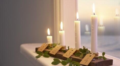 Joulukynttilät – steariini vai LED?