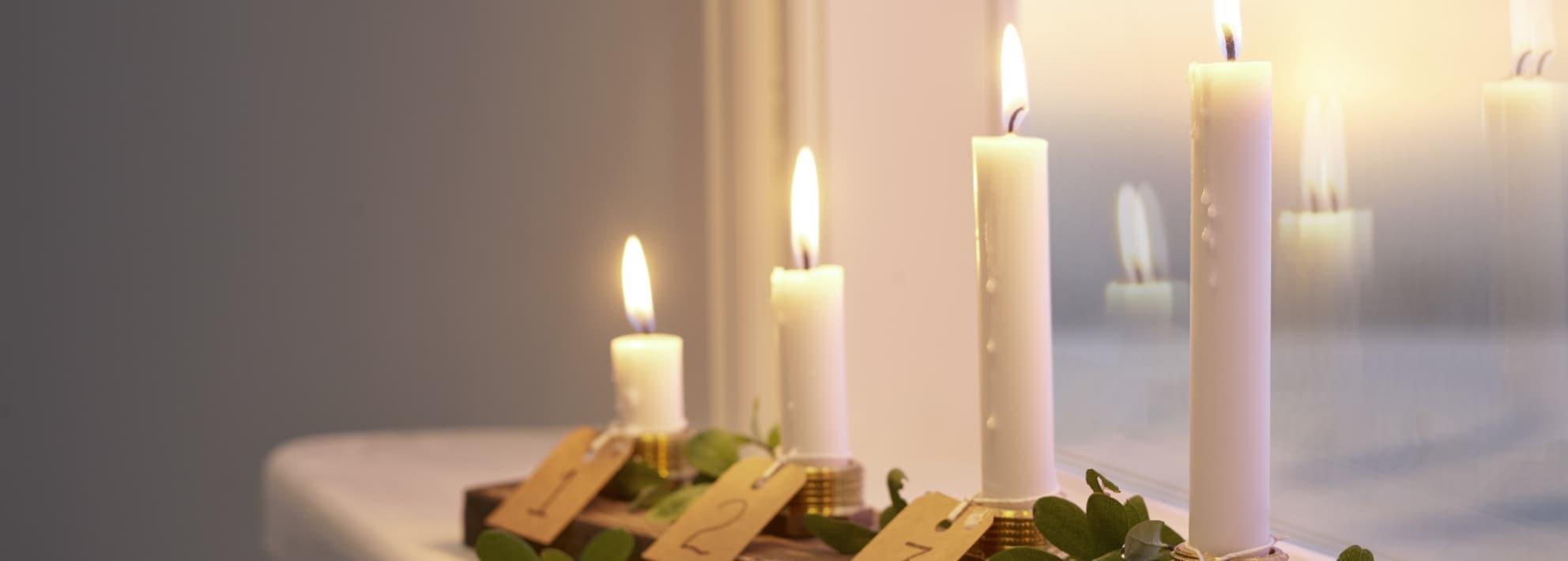 Joulukynttilät