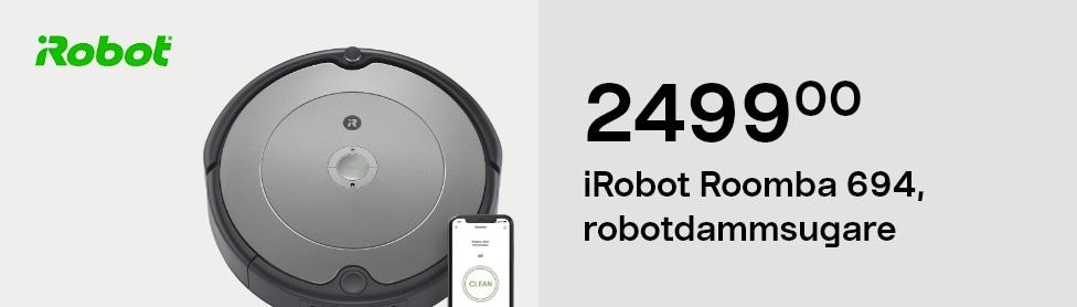 iRobot Roomba 694, robotdammsugare