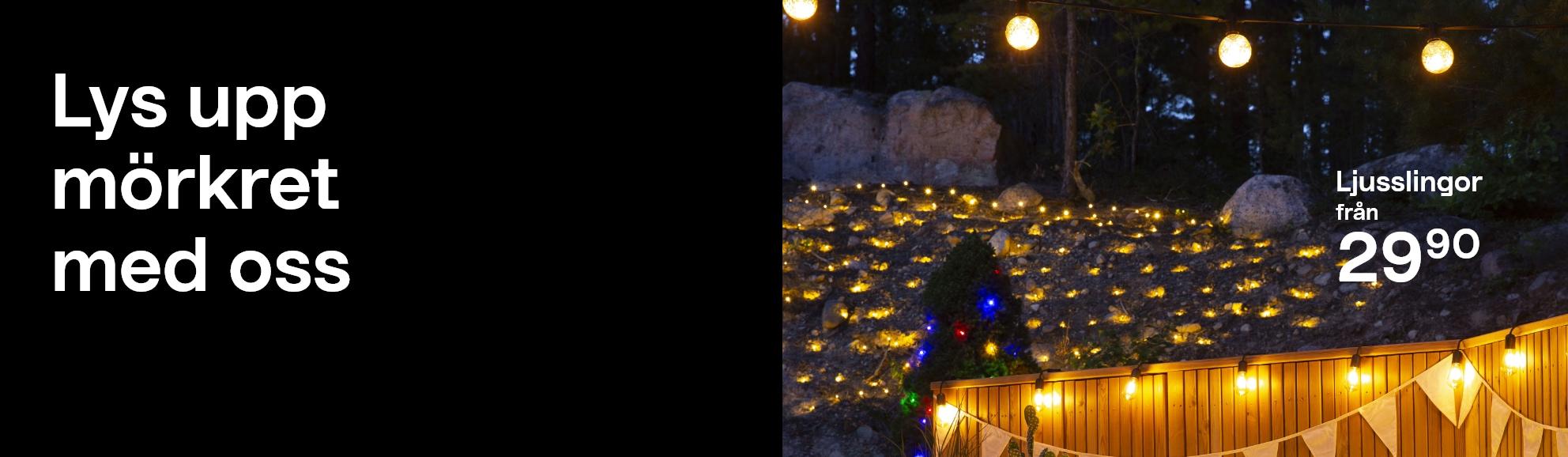 Ljusslingor från 29.90