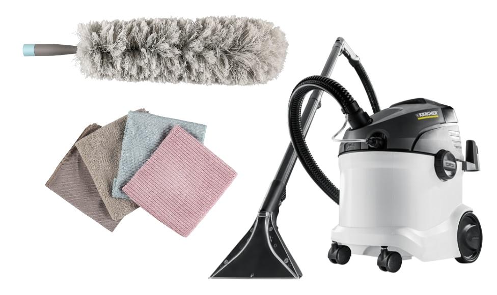 Passa på att städa grundligt