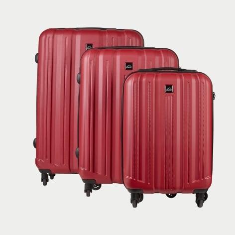Stora och små resväskor