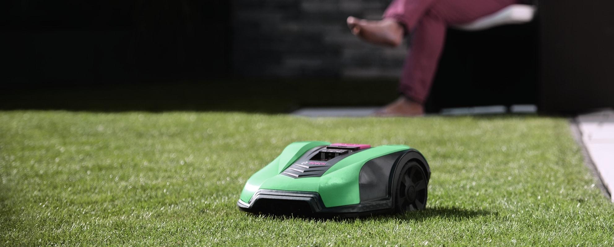 Installation av Robotgräsklippare