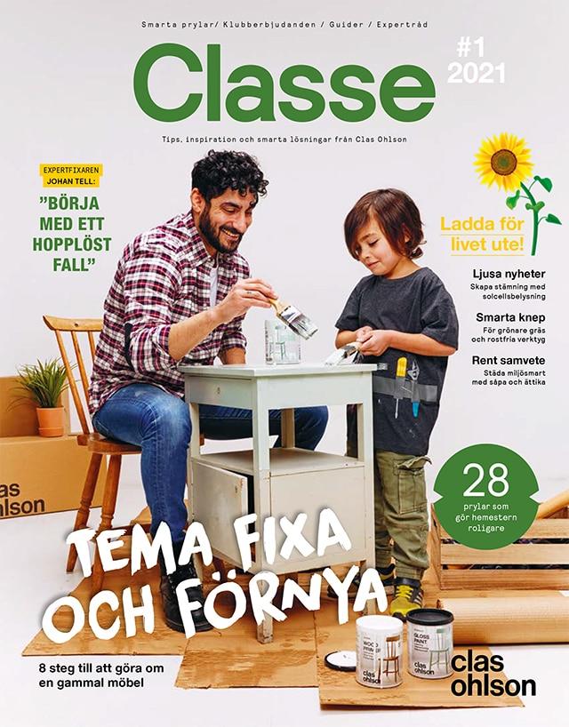 Nytt nummer av Club Clas-magasinet