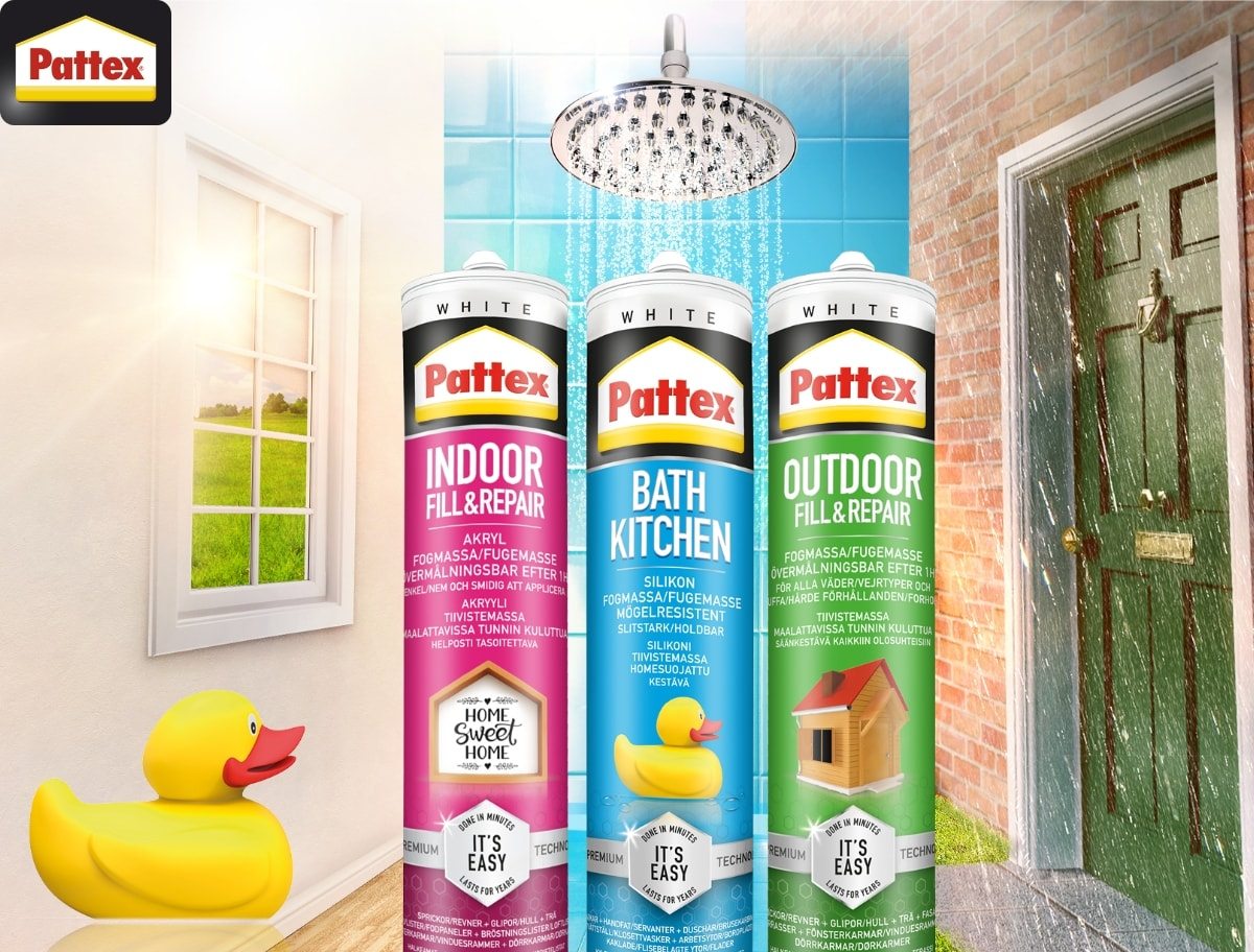 Supplier media - Pattex