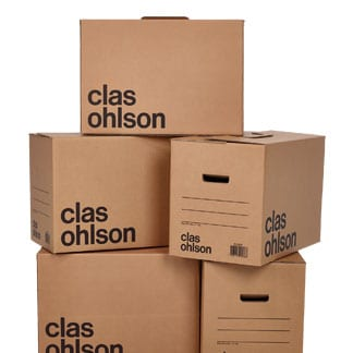 Flyttlådor & emballage