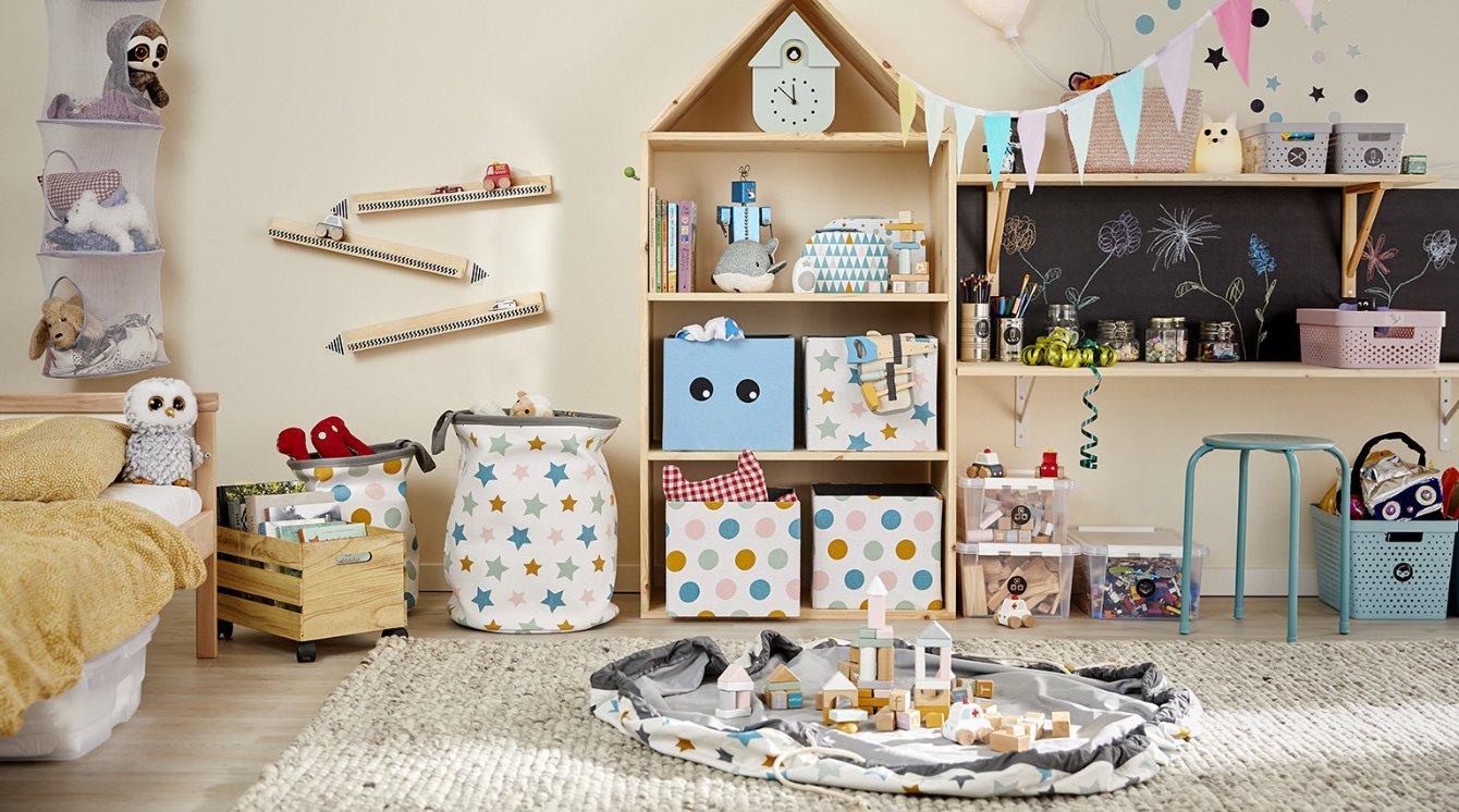 Organisera barnrummet | Clas Ohlson