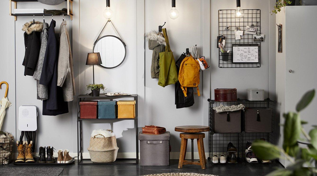 Organisera hallen | Clas Ohlson