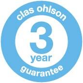 Clas Ohlson 3 års garanti