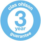 Clas Ohlson 3 year guarantee