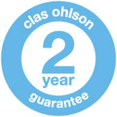 Clas Ohlson always has a 2 year gu