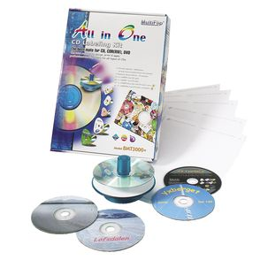 CD/DVD-labeling kit
