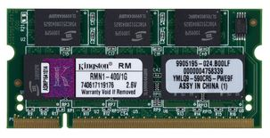 SO-DIMM DDR-minne 1024 MB