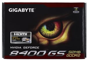 Grafikkort NVIDIA GeForce 8400 GS GPU