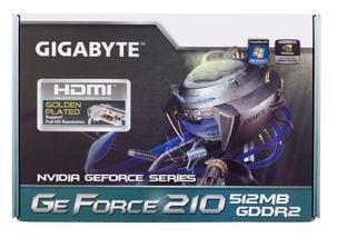 Näytönohjain NVIDIA GeForce 210 OC. PCI-Express 2,0 16x, HDMI-, DVI- ja näyttöliitännät