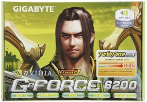 Nvidia GeForce 6200 Graphics Card