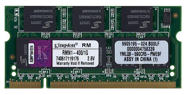 SO-DIMM DDR-minne 1024 MB